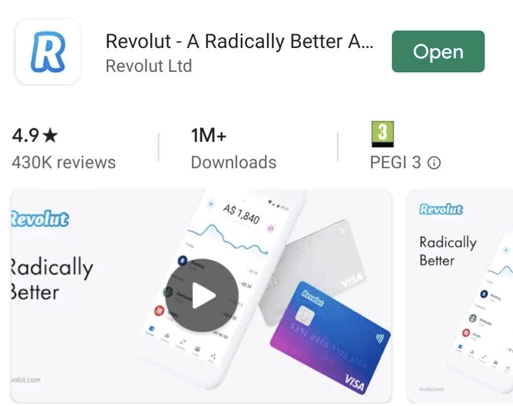 Descargar e instalar app Revolut