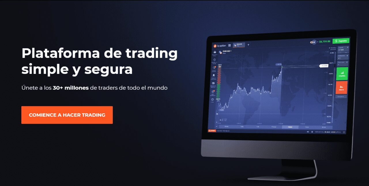 Plataforma trading Iq Option
