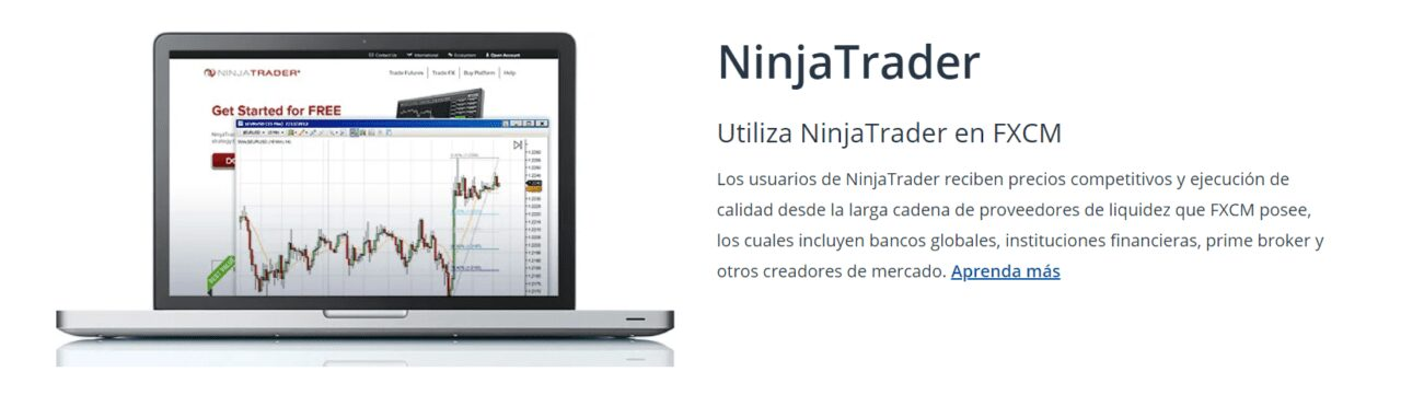 NinjaTrader FXCM