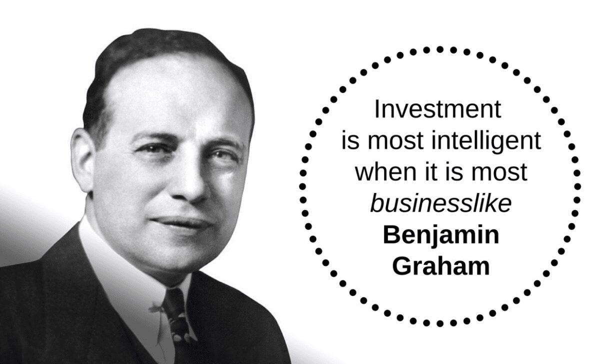 Frases de Benjamin Graham