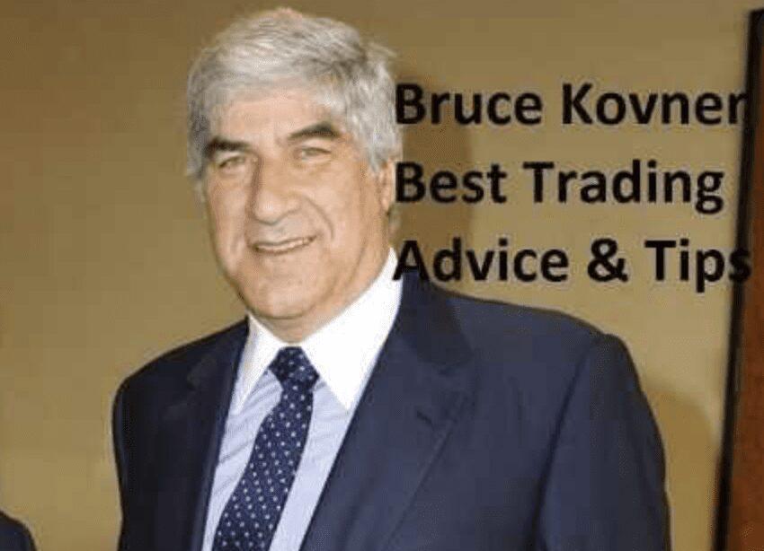 Bruce Kovner, frases de trading