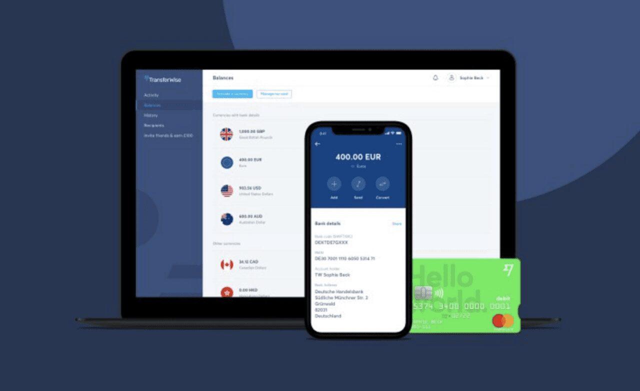 Tarjeta débito TransferWise