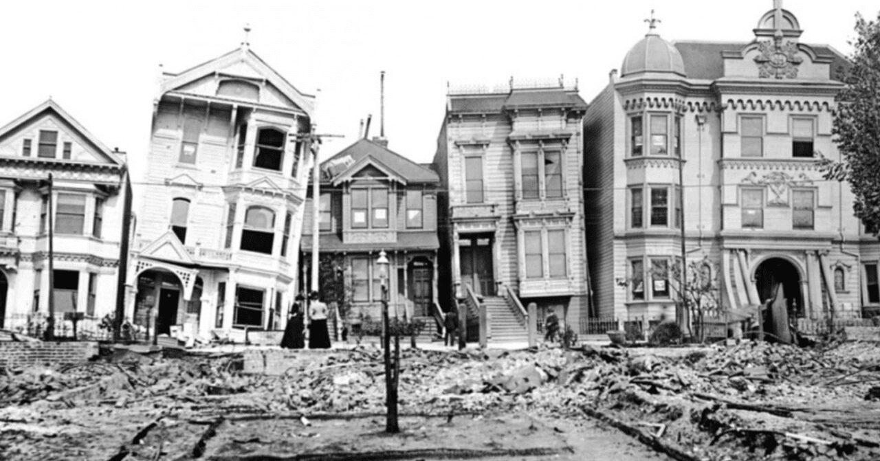 Terremoto San Francisco 1906