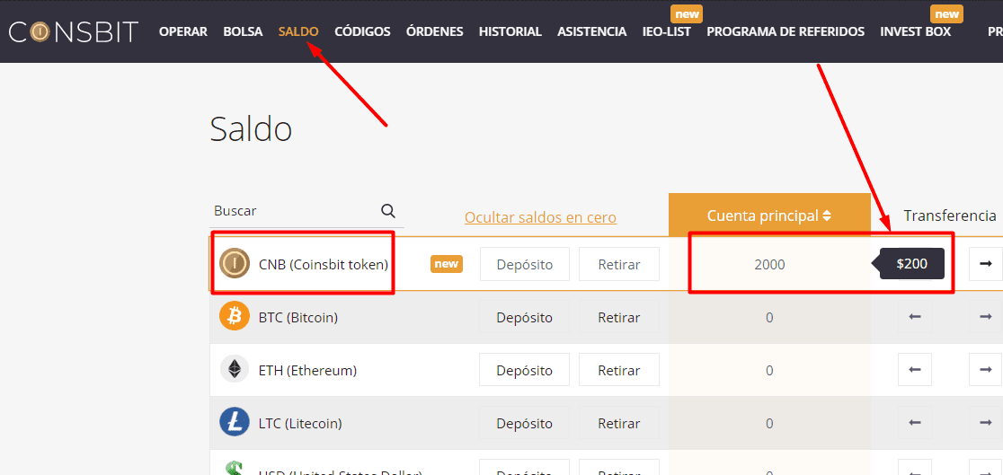 2000 tokens gratis con Coinsbit