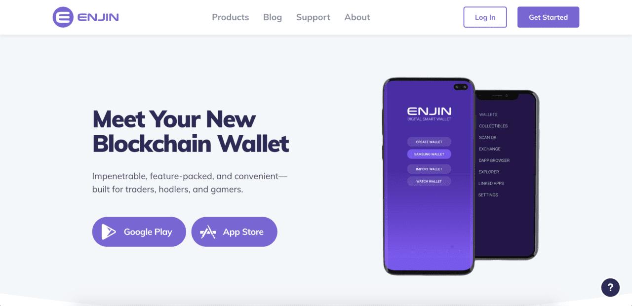 enjin wallet app