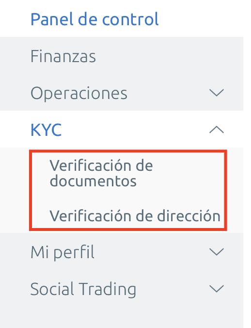 verificación de documentos EverFX Global