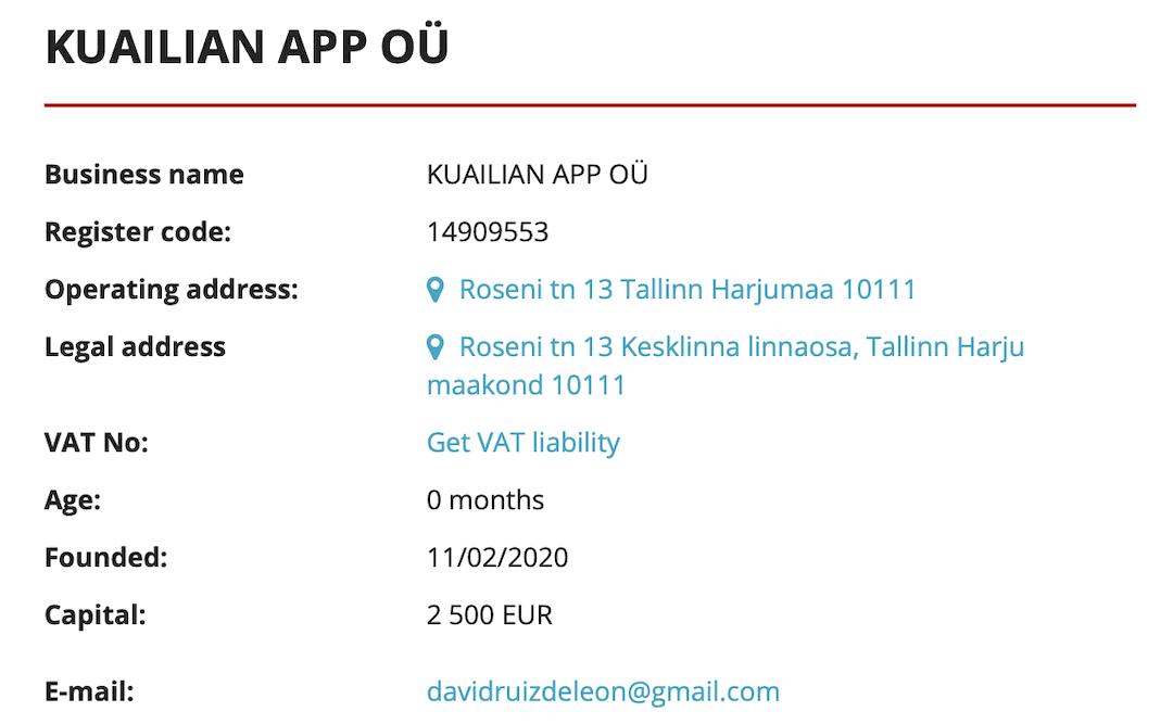 Quailian, Qualian, Cualian, Cuailian, Kalian
